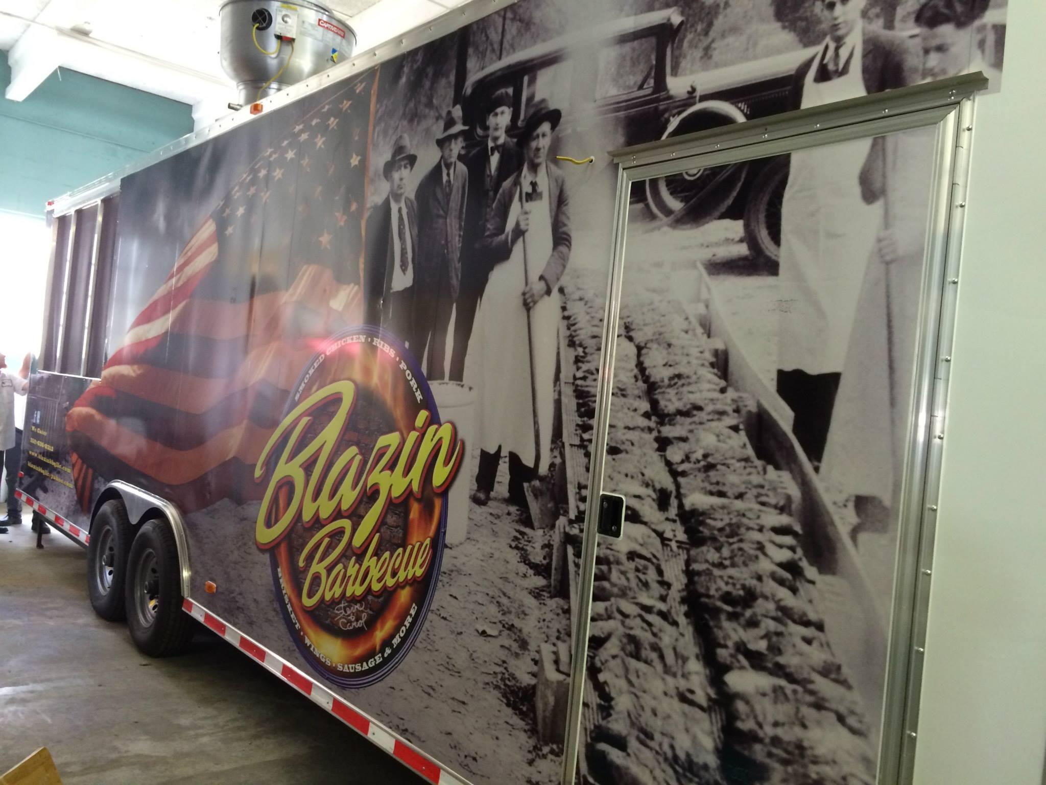 Blazin BBQ LLC Food Truck