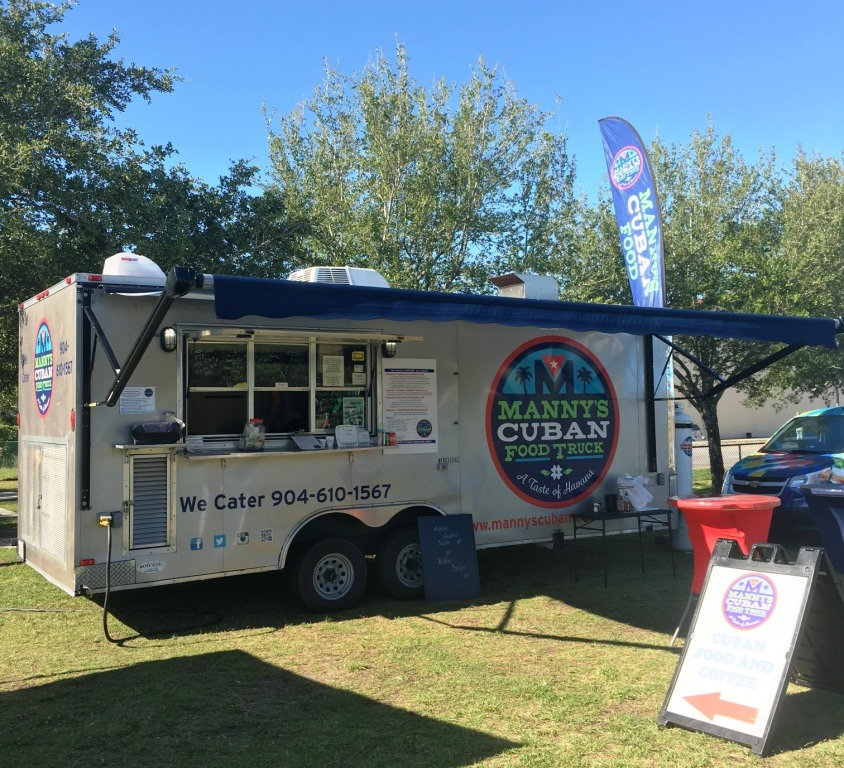 Manny's Cuban Food Truck Food Truck