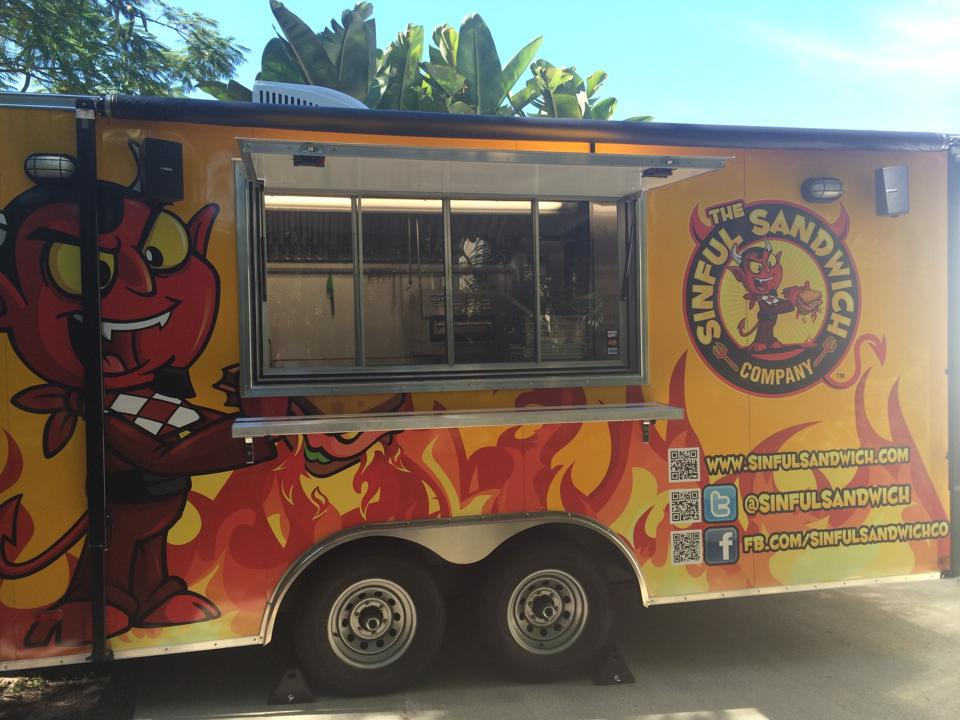 The Sinful Sandwich Company Food Truck