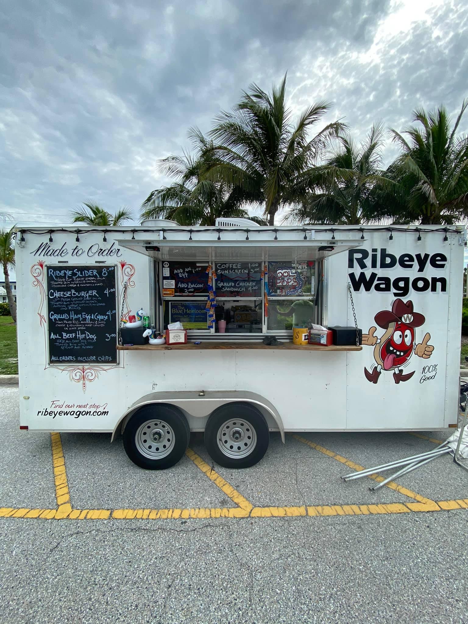Double W Ribeye Wagon Food Truck