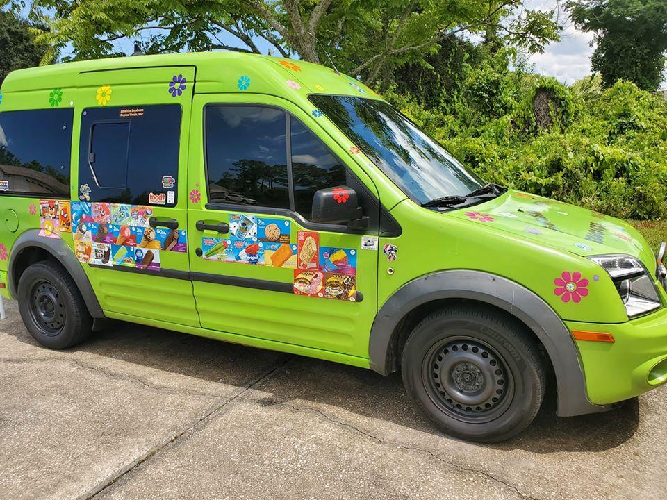 Sunshine Daydream Tropical Treats food truck