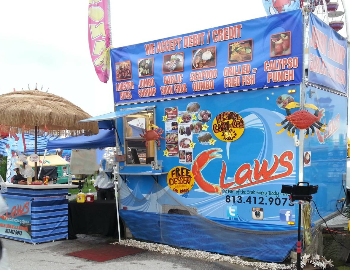 Claws Seafood & More Mobile Eateries Food Truck