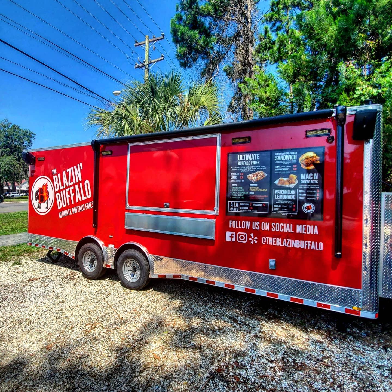 The Blazin' Buffalo: Ultimate Buffalo Fries Food Truck