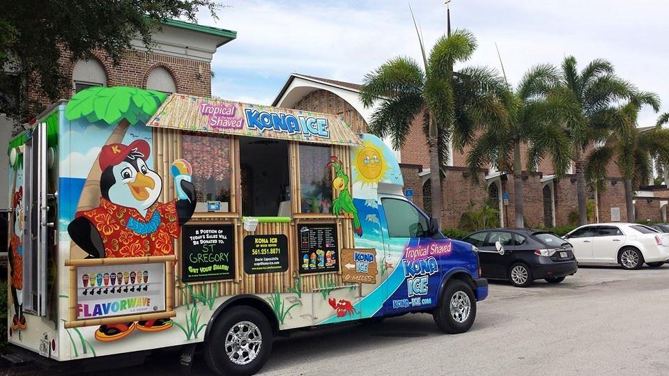 Kona Ice of Boca Raton Food Truck