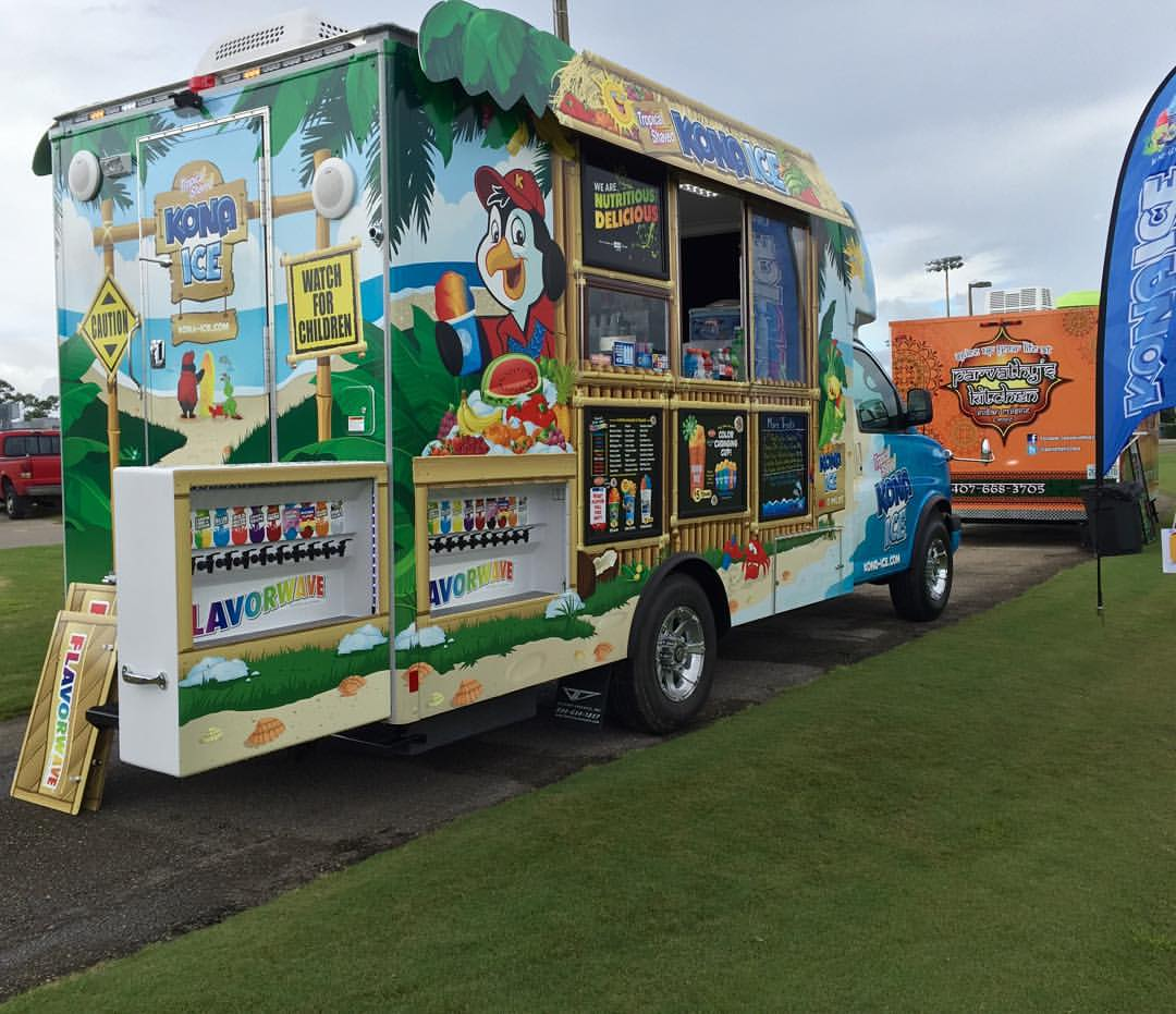 Kona Ice South Volusia County food truck