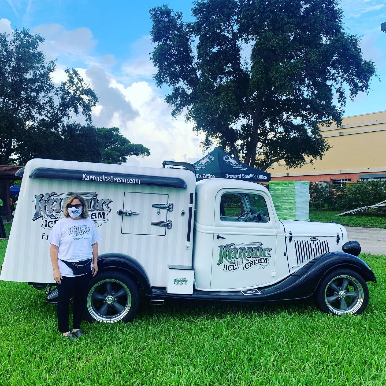 Karmic Ice Cream Food Truck