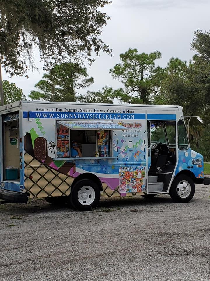 Sunny Days Ice Cream Food Truck