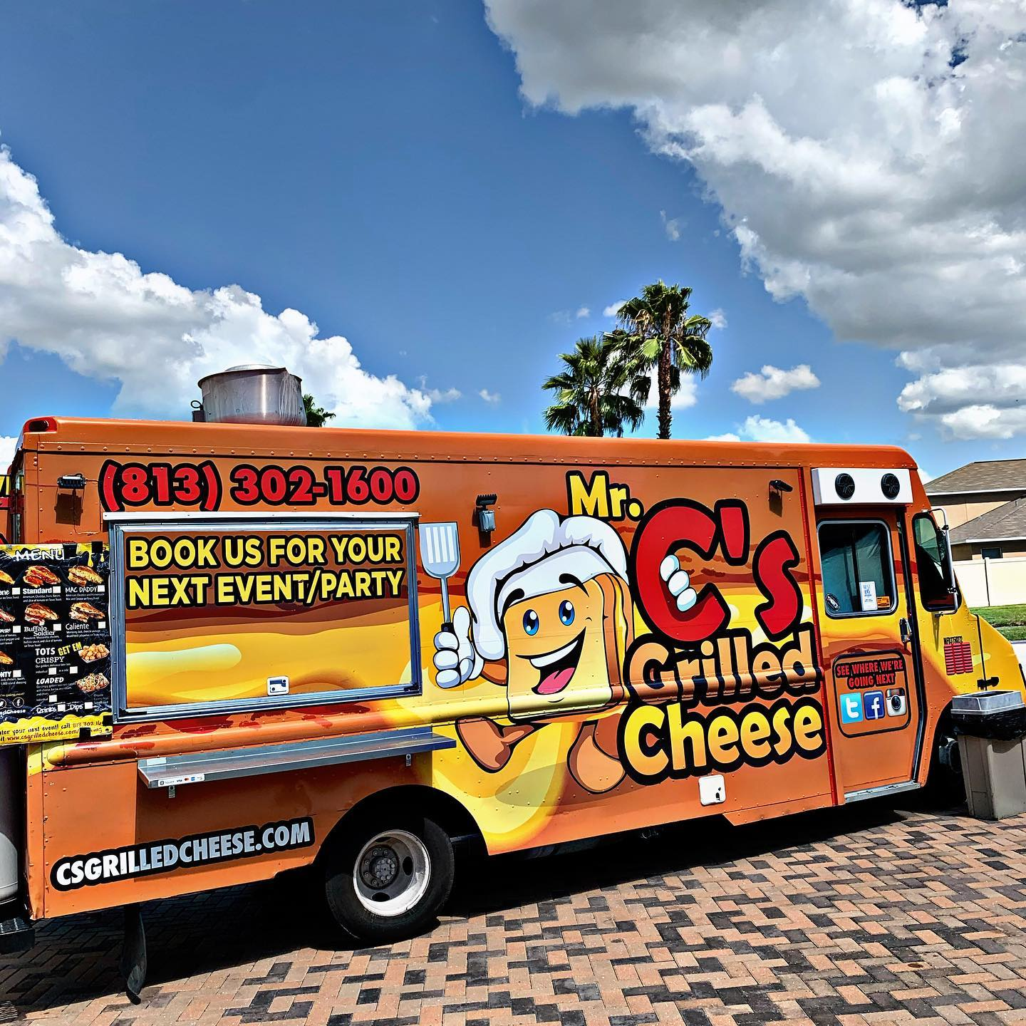 Mr. C's Grilled Cheese Food Truck