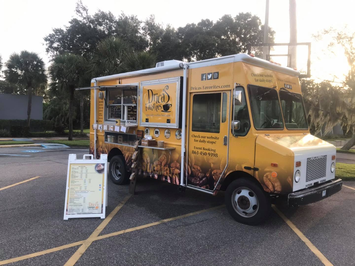 Drica's Favorites Specialty Coffee Boutique Food Truck