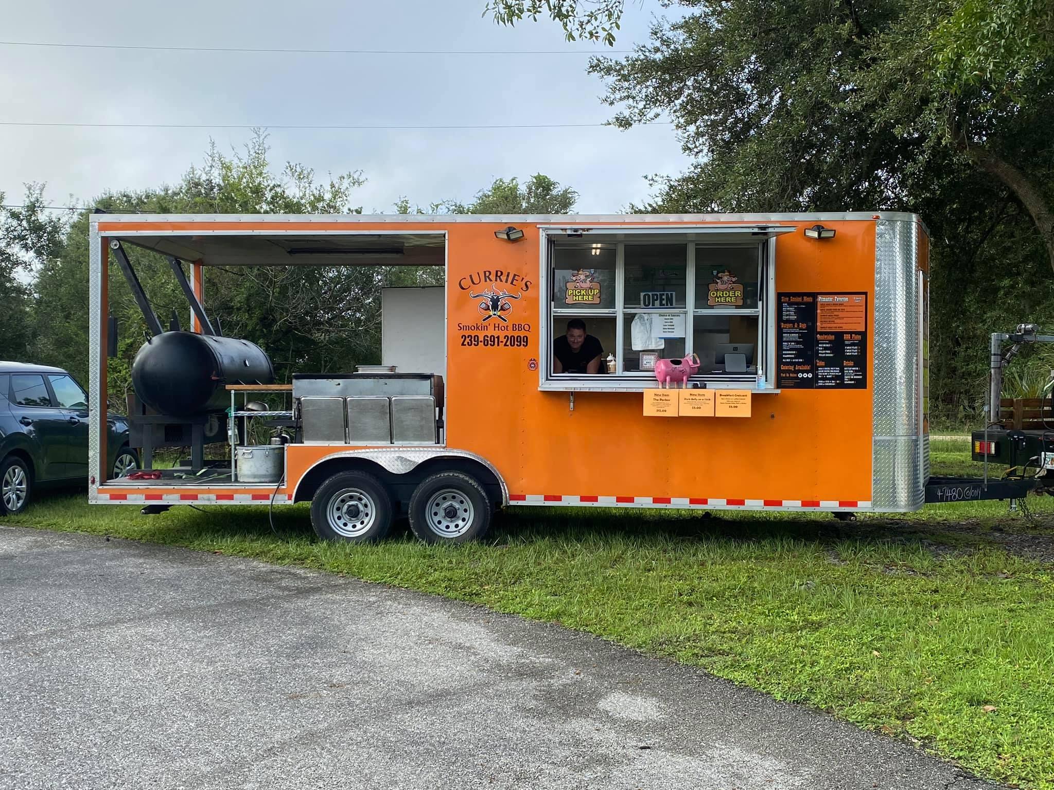 Currie's Smokin Hot BBQ Food Truck