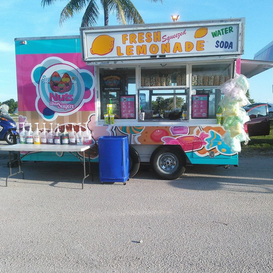 Nuts about sugar Food Truck
