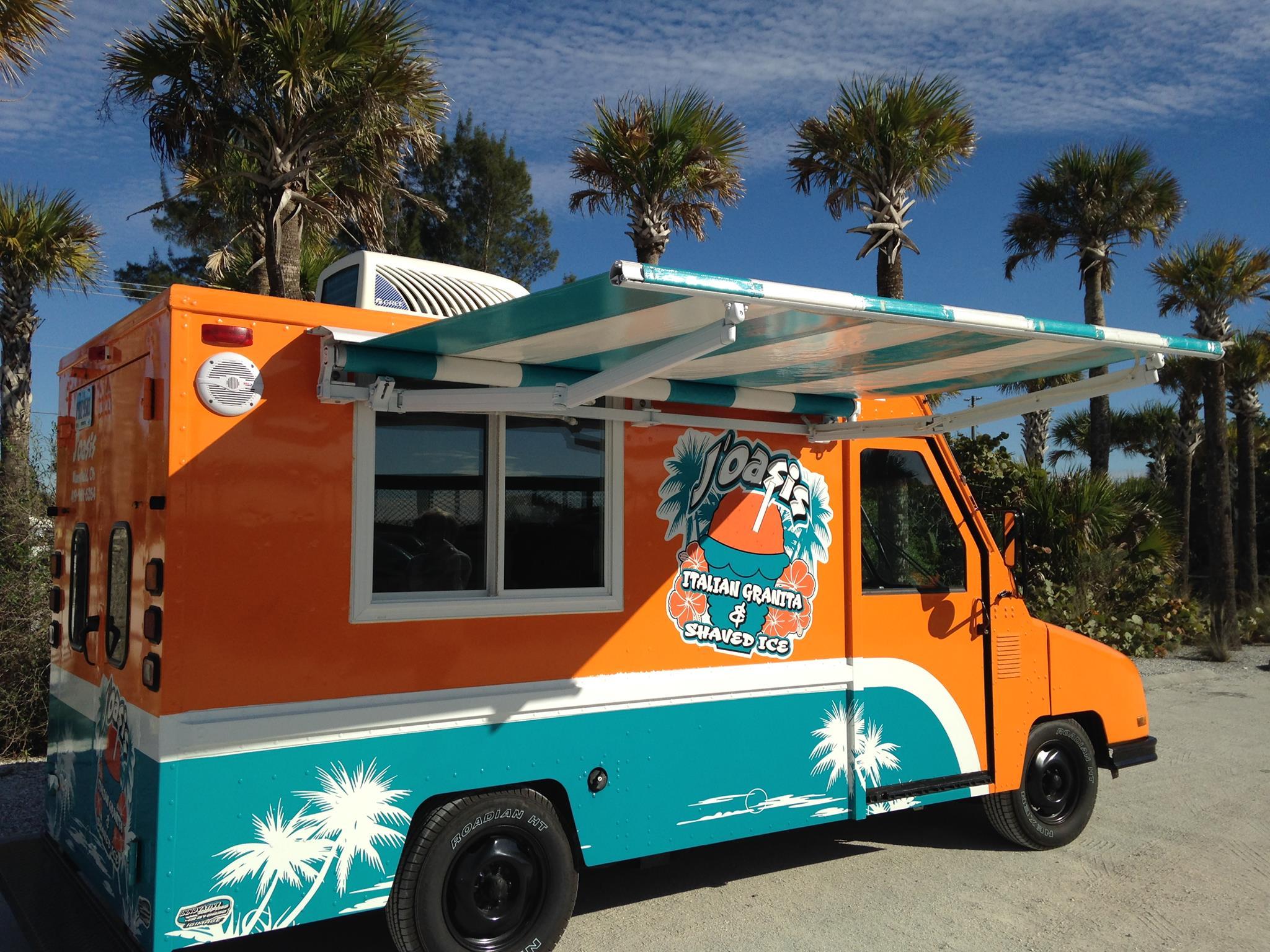 J'Oasis Italian Granita & Island Shave Ice Food Truck