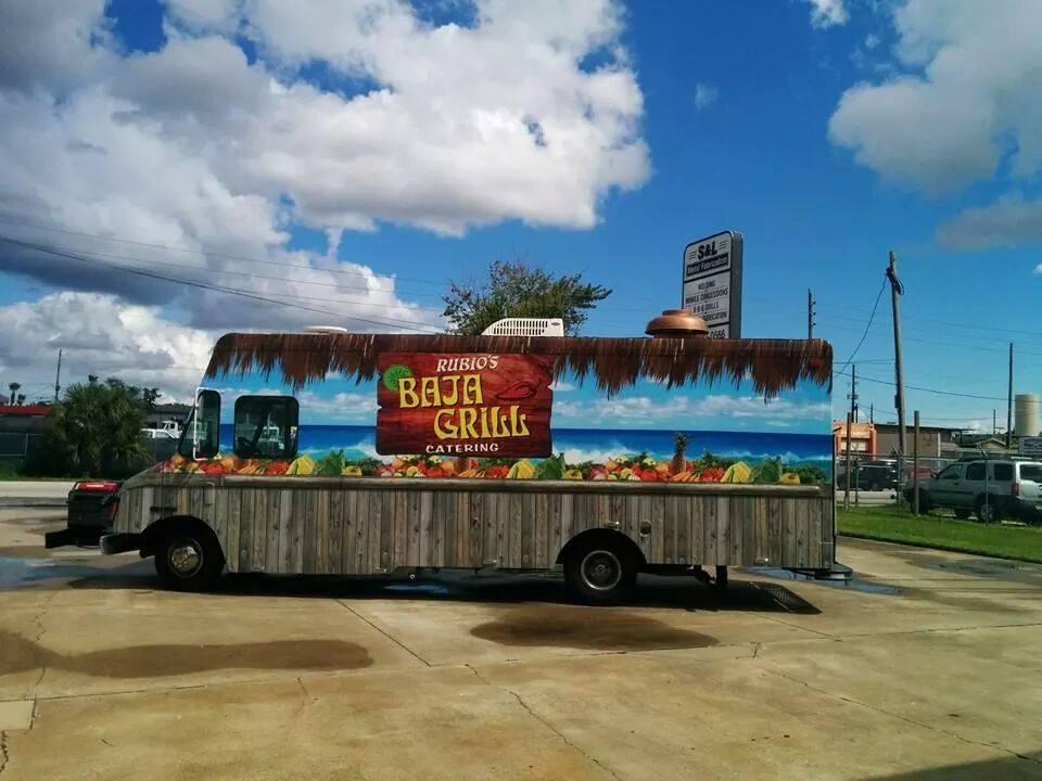 Rubios Baja Grill Catering Food Truck