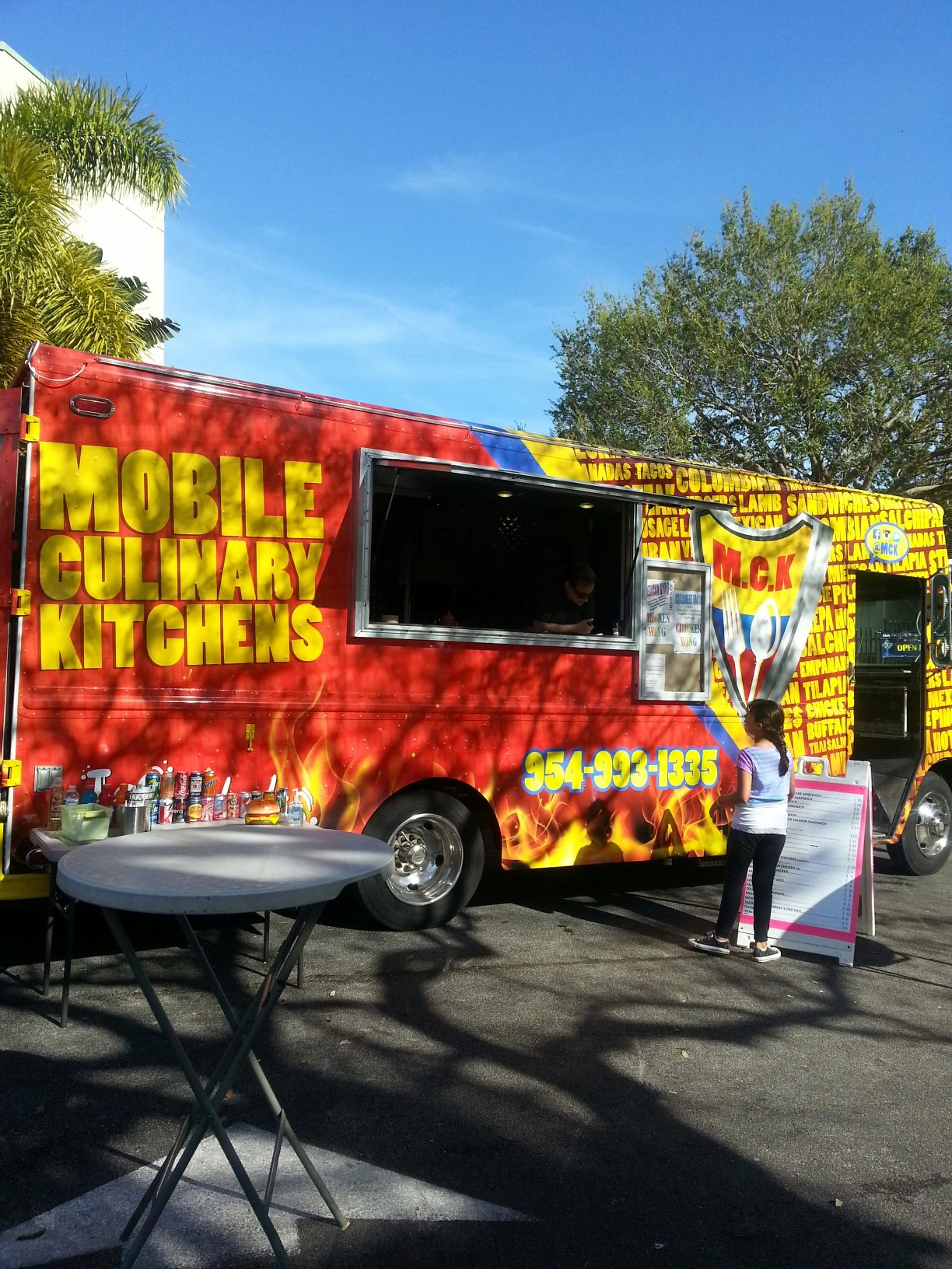 Mobile Culinary Kitchens Food Truck