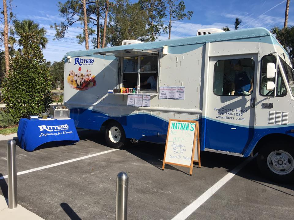 Ritter's Frozen Custard food truck