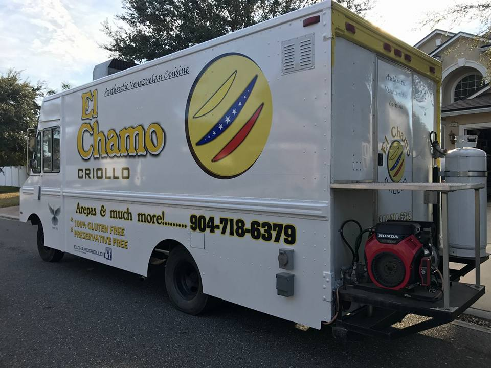 El Chamo Criollo Food Truck
