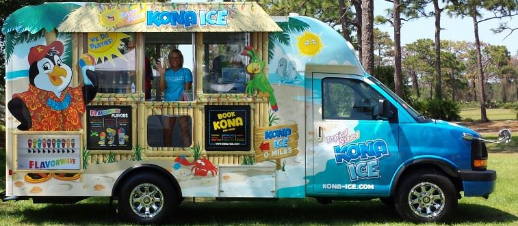 Kona Ice of Central Brevard County Food Truck