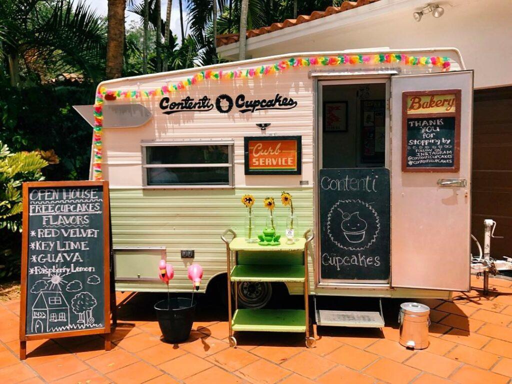 Contenti Cupcakes Food Truck