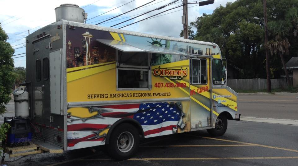 Curbie's Sidewalk Cafe Food Truck