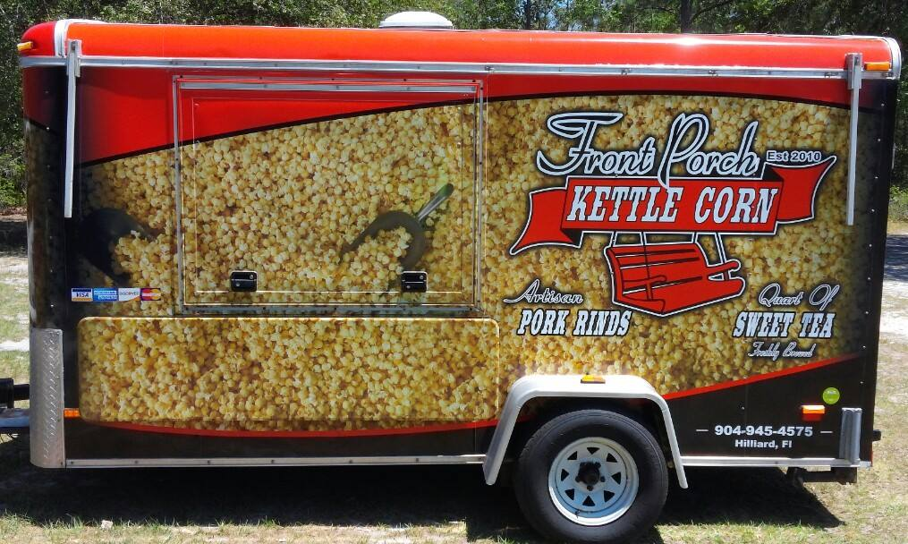 Front Porch Kettle Corn Food Truck