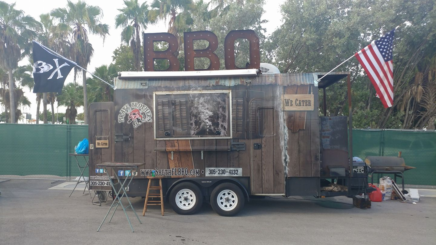 Pirate Brothers BBQ Food Truck