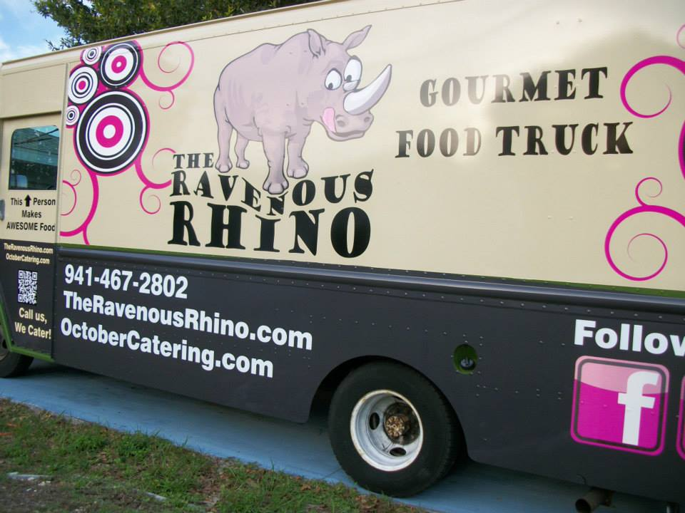 The Ravenous Rhino Food Truck