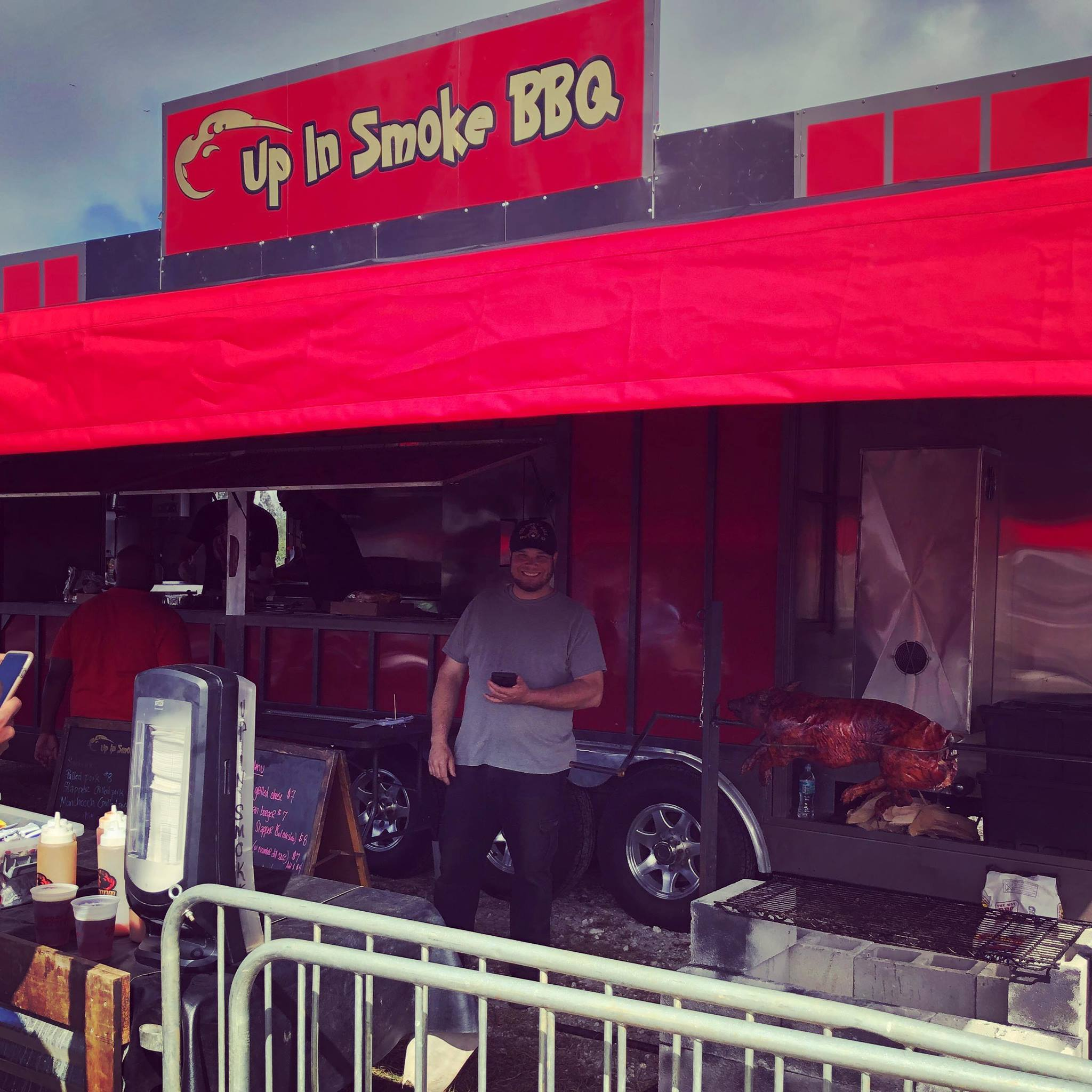 Up In Smoke Food Truck