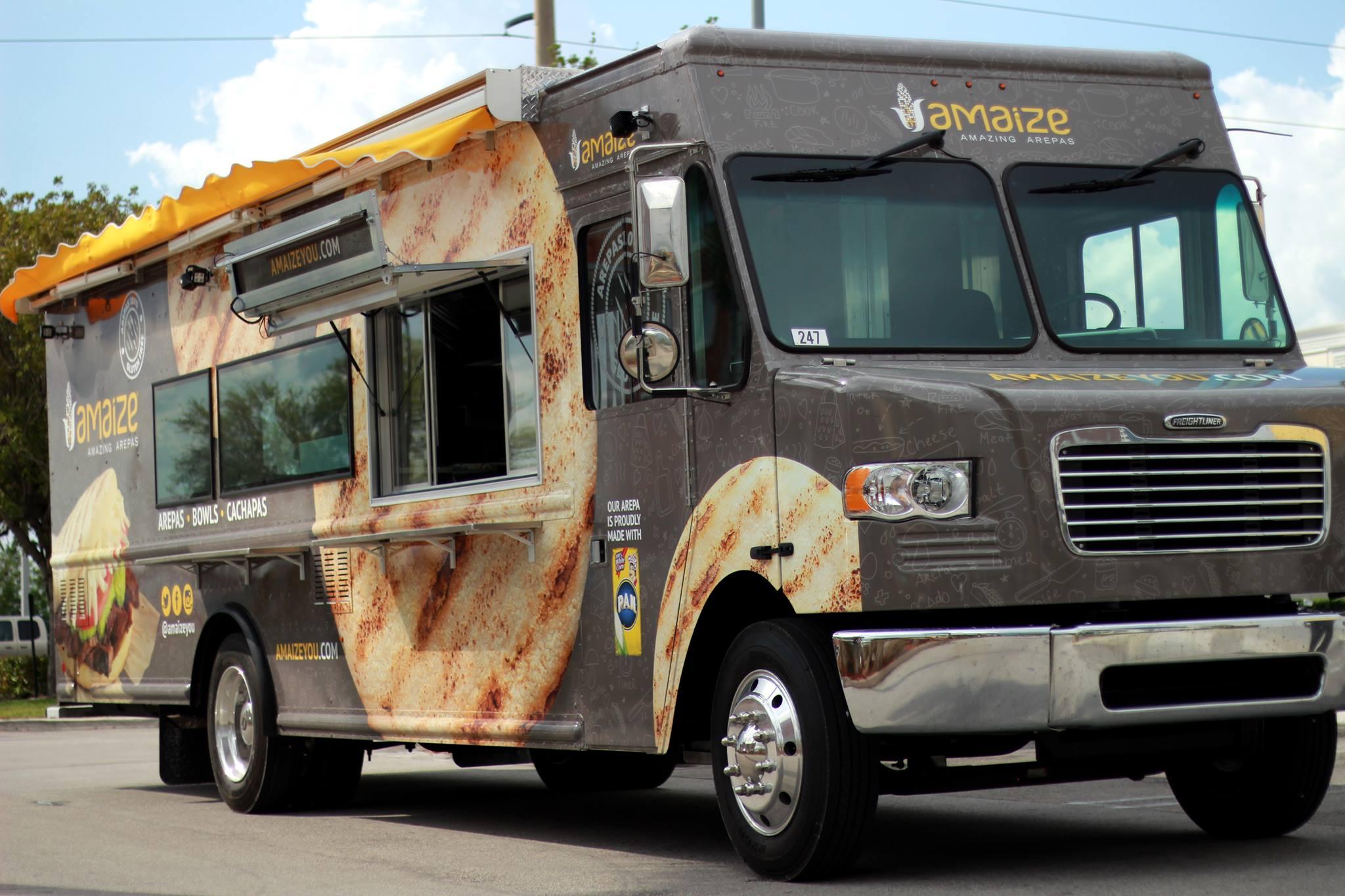 Amaize Food Truck Food Truck
