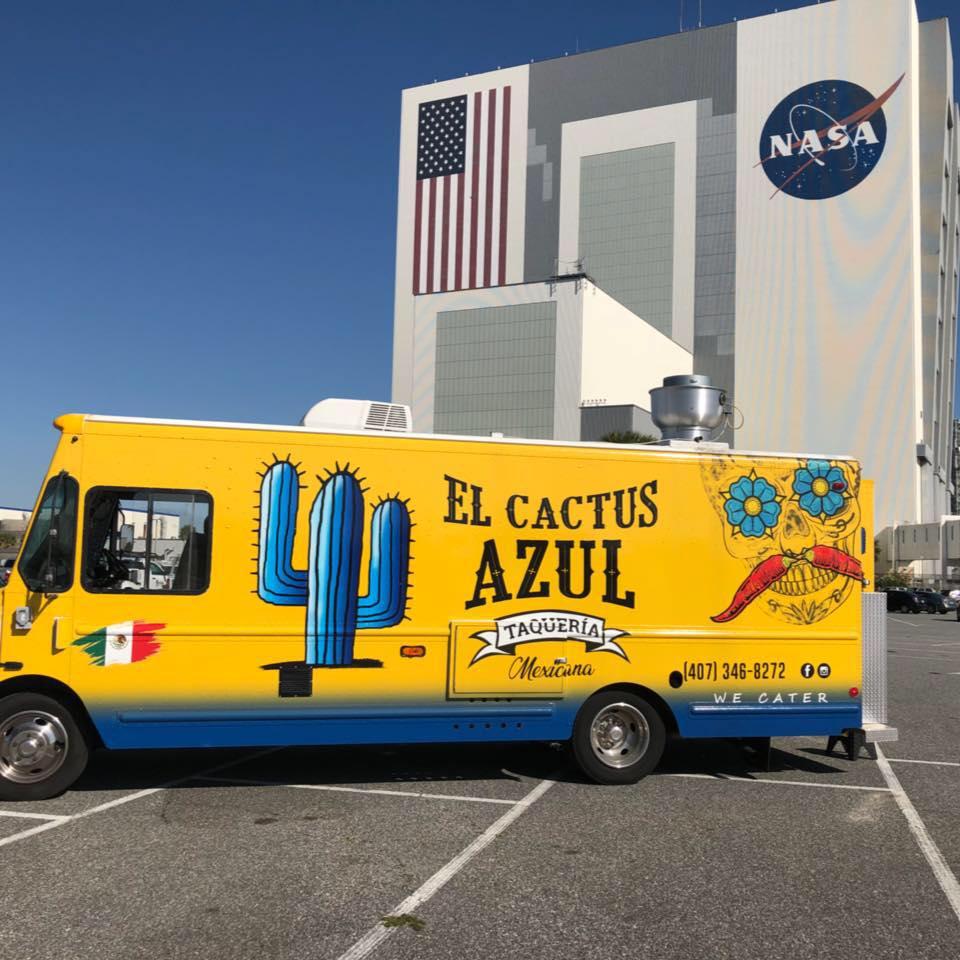 El Cactus Azul Food Truck