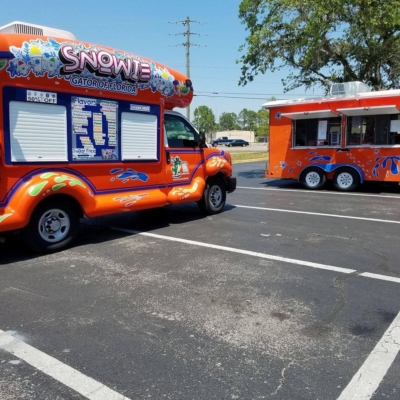 Snowie Gator Shaved Ice LLC Food Truck