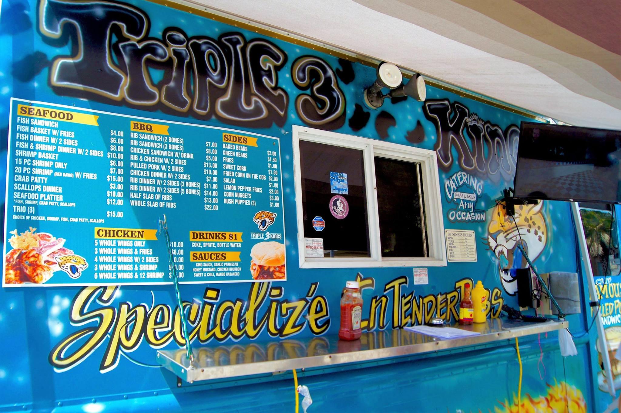 Triple 3 Kings Food Truck