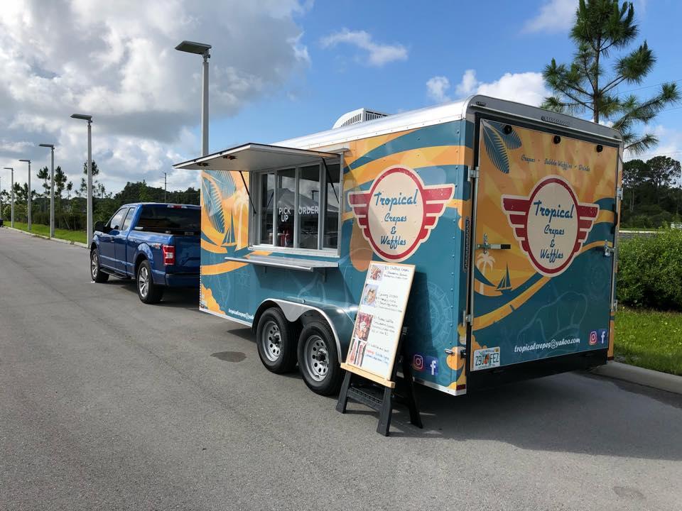 Tropical Crepes & Waffles Food Truck Food Truck