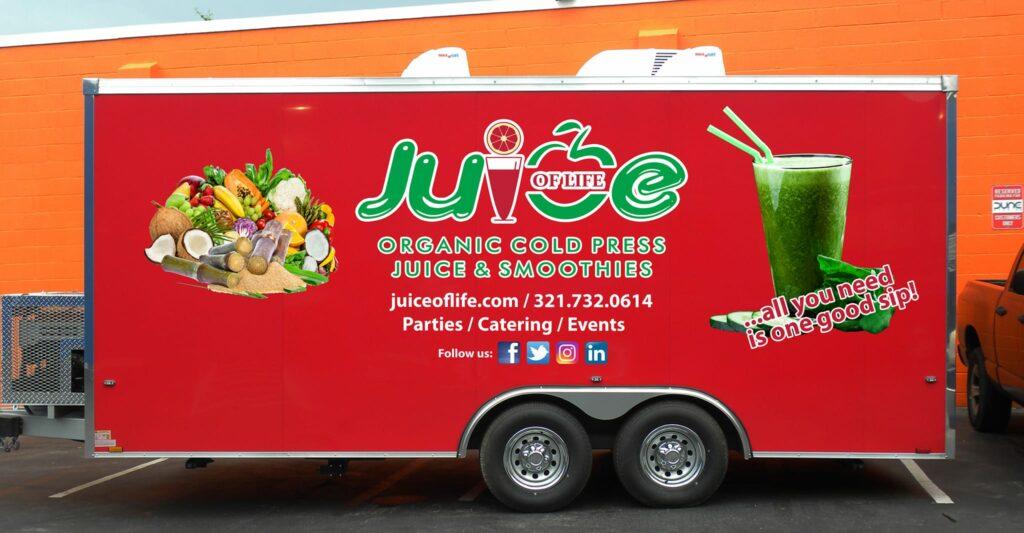 Juice of Life Food Truck