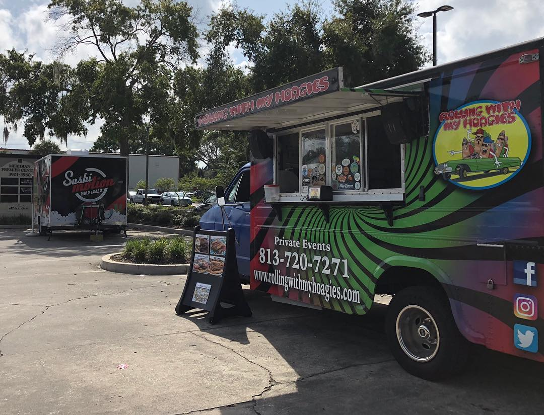 Rolling with my Hoagies Food Truck