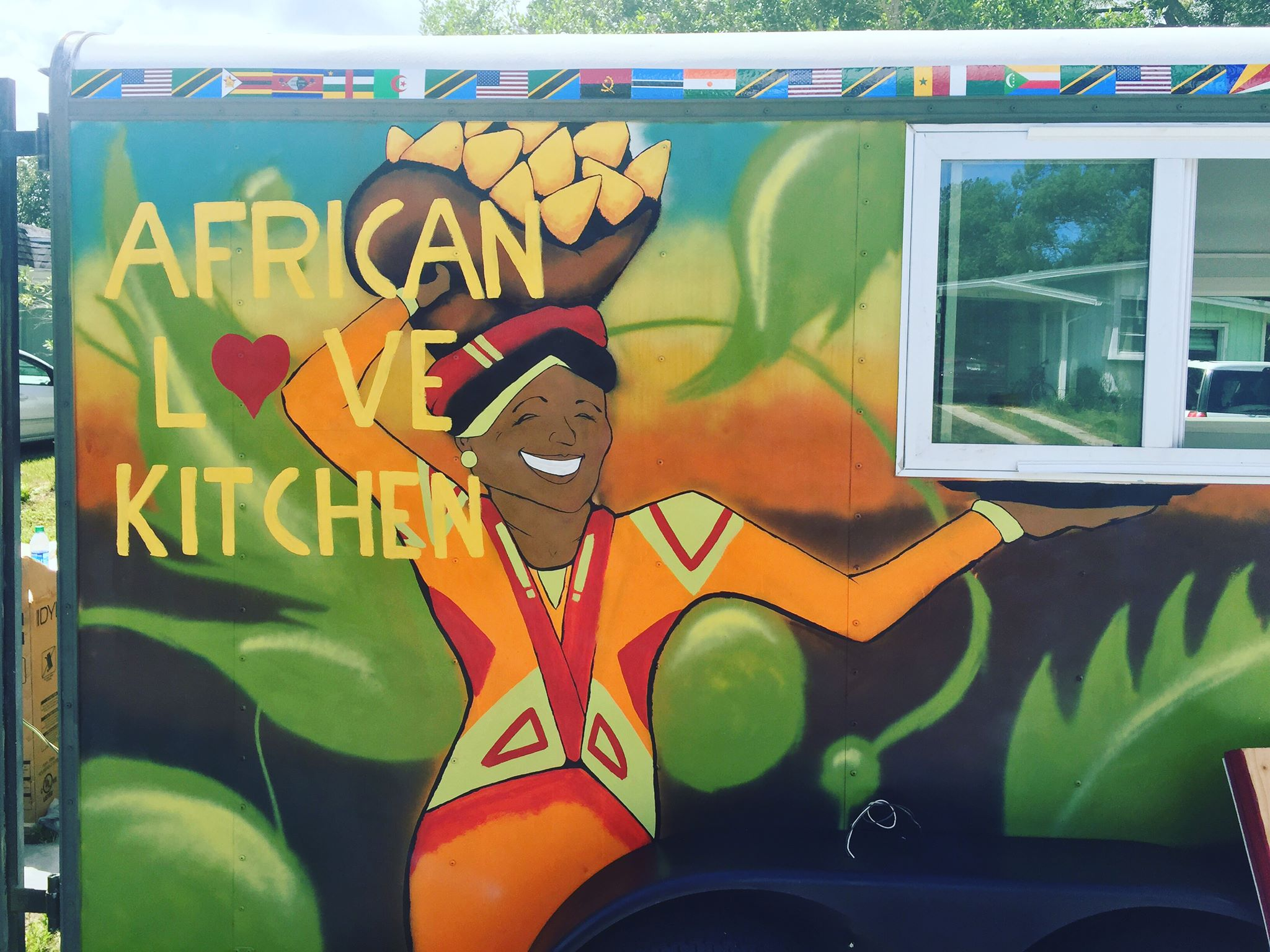 African Love Kitchen Food Truck Food Truck