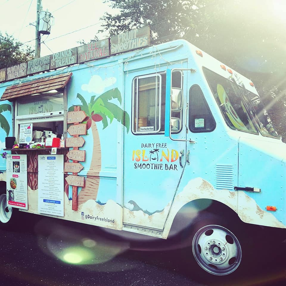 Dairy Free Island Smoothie Bar & More Food Truck