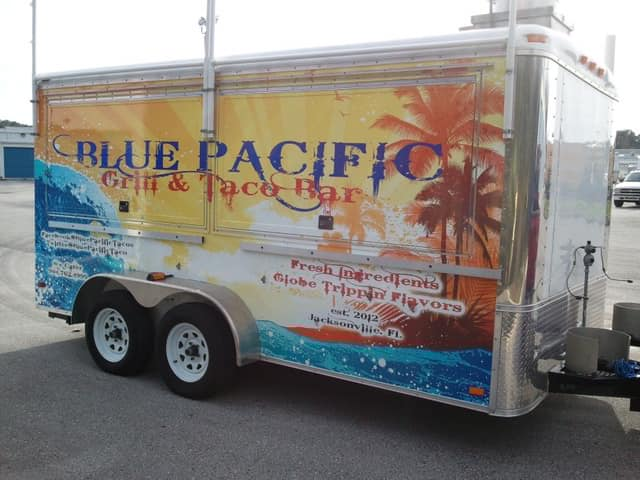 Blue Pacific Grill & Taco Bar Food Truck