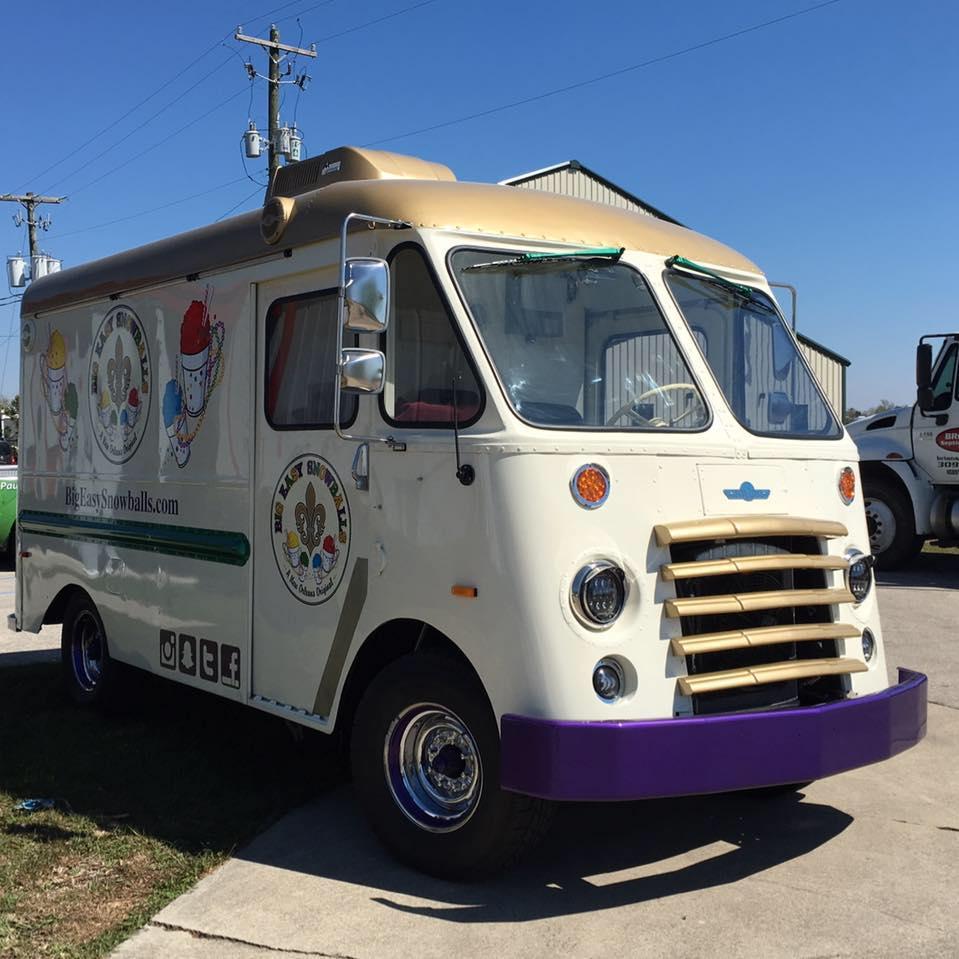 Big Easy Snowballs Food Truck