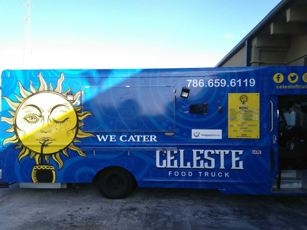 Celeste Food Truck Food Truck