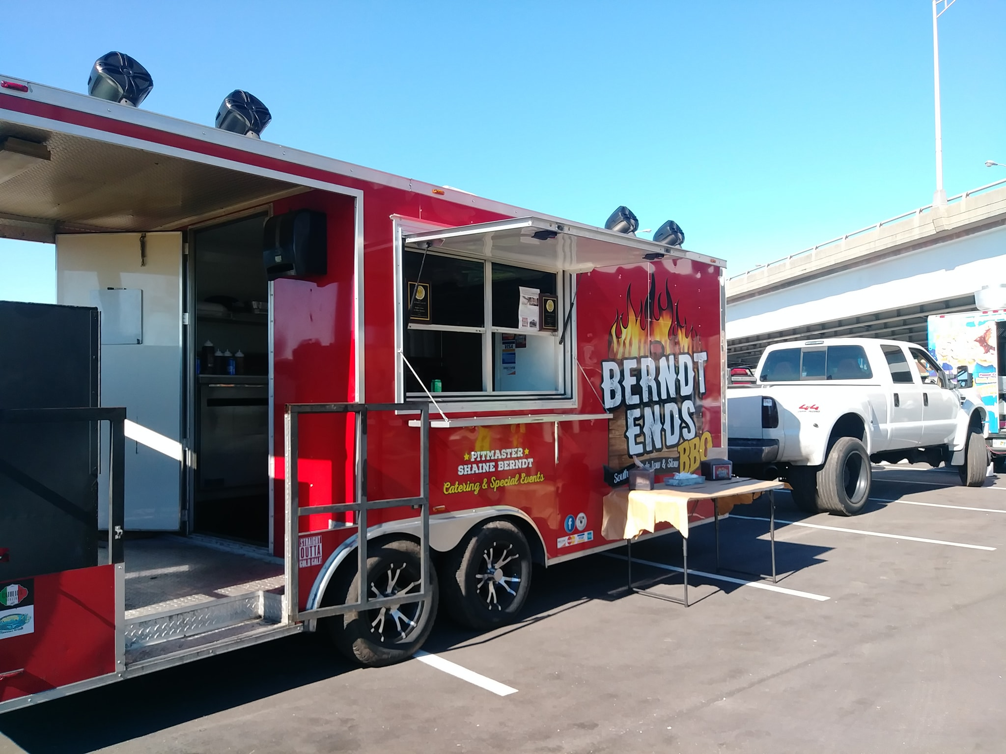 Berndt Ends BBQ Food Truck