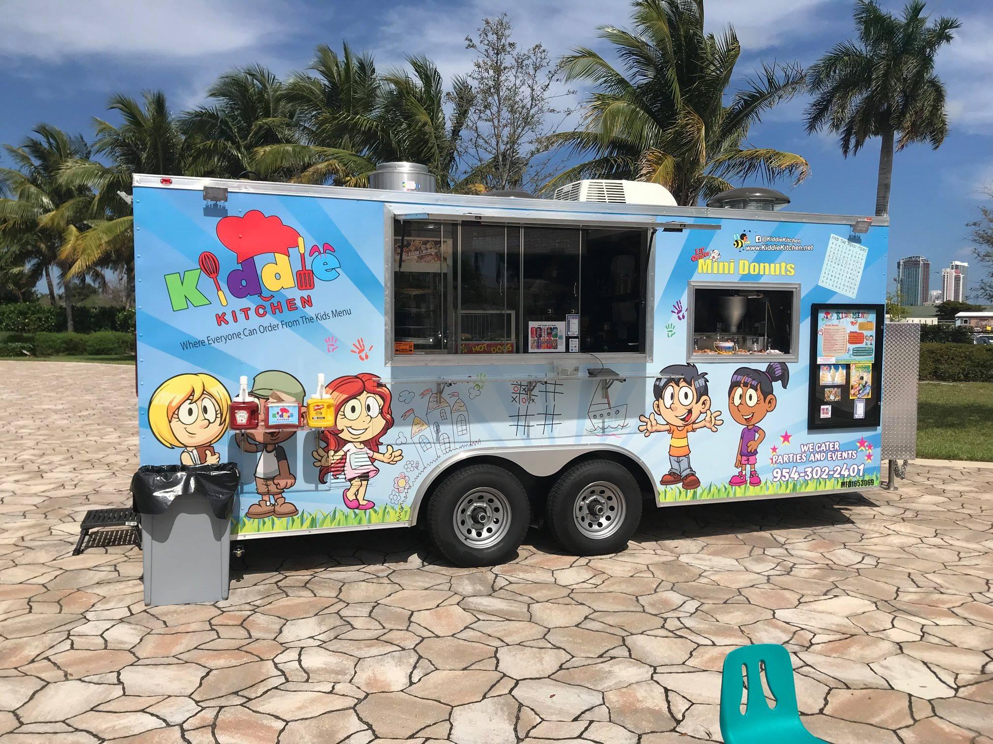 Kiddie Kitchen Food Truck
