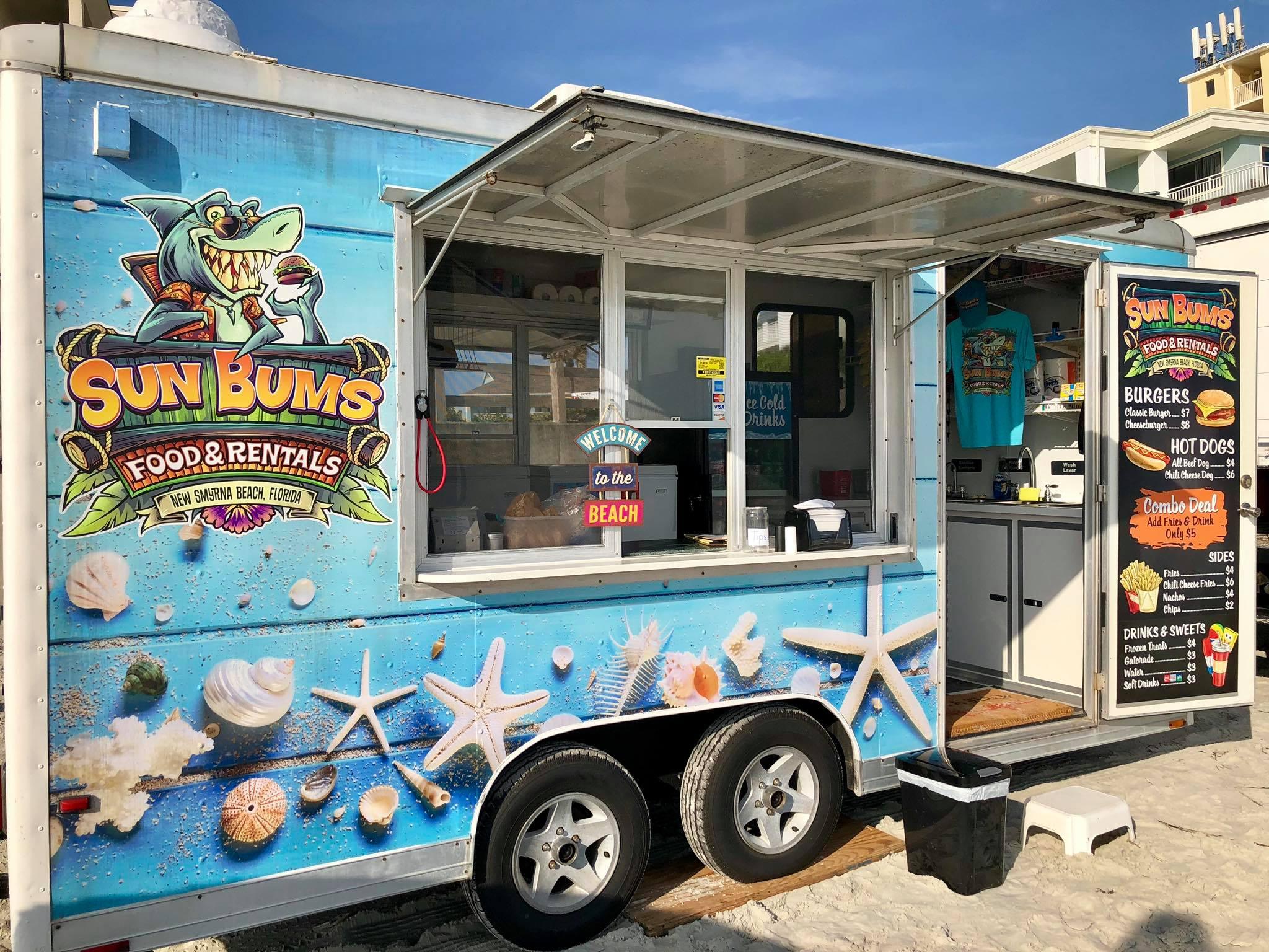 Sun Bums Food & rental food truck