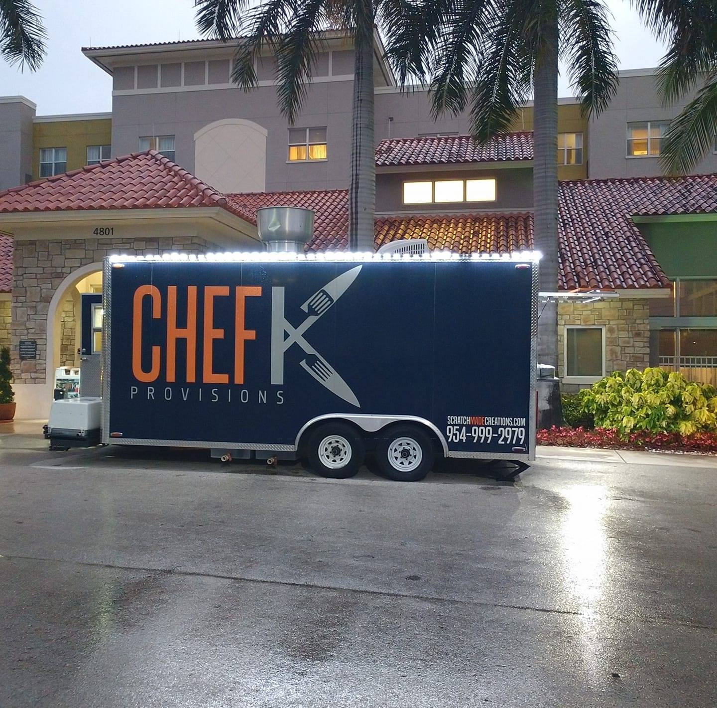 Chef K Provisions Food Truck