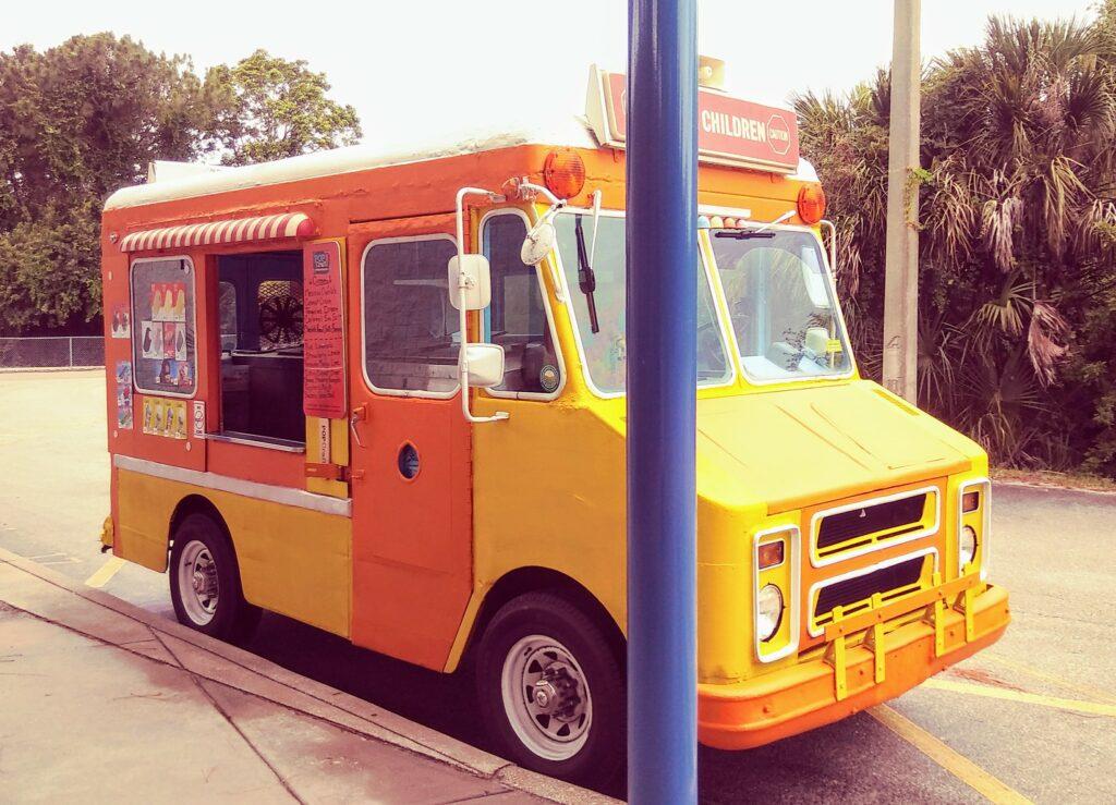B's Cool Treats Ice Cream Truck Food Truck