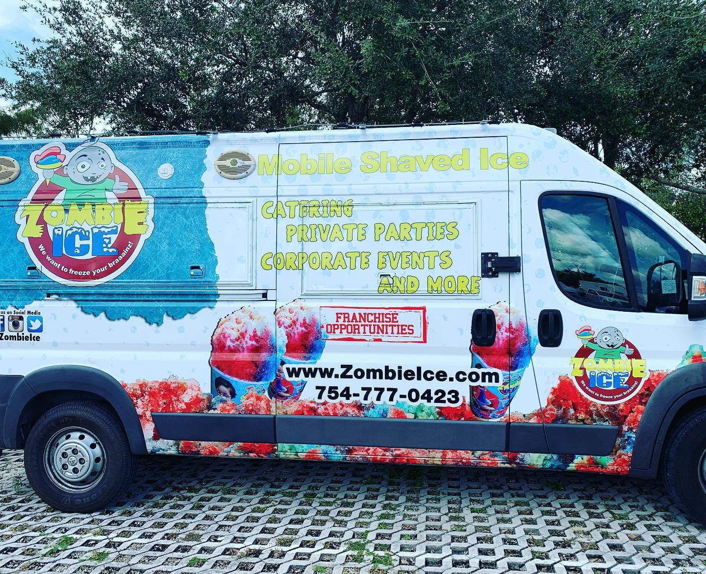 Zombie Ice Food Truck