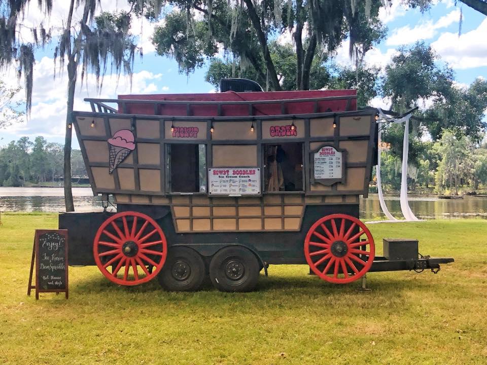 Howdy Doodles Ice Cream Coach Food Truck