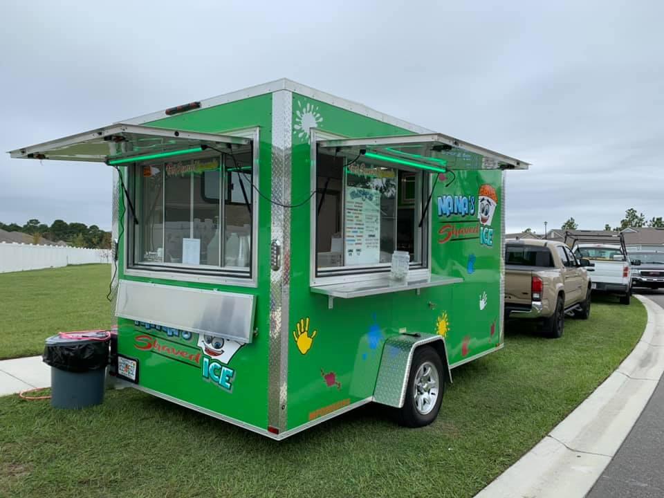 Nana's Shaved Ice Food Truck