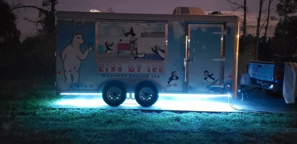 Kiss My Ice Food Truck
