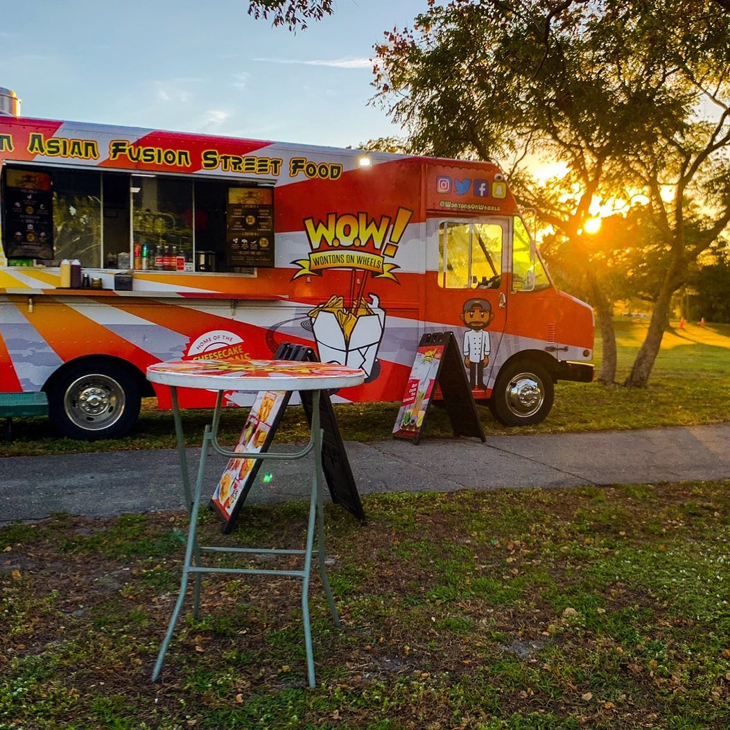 Wontons On Wheels- W.O.W Food Truck