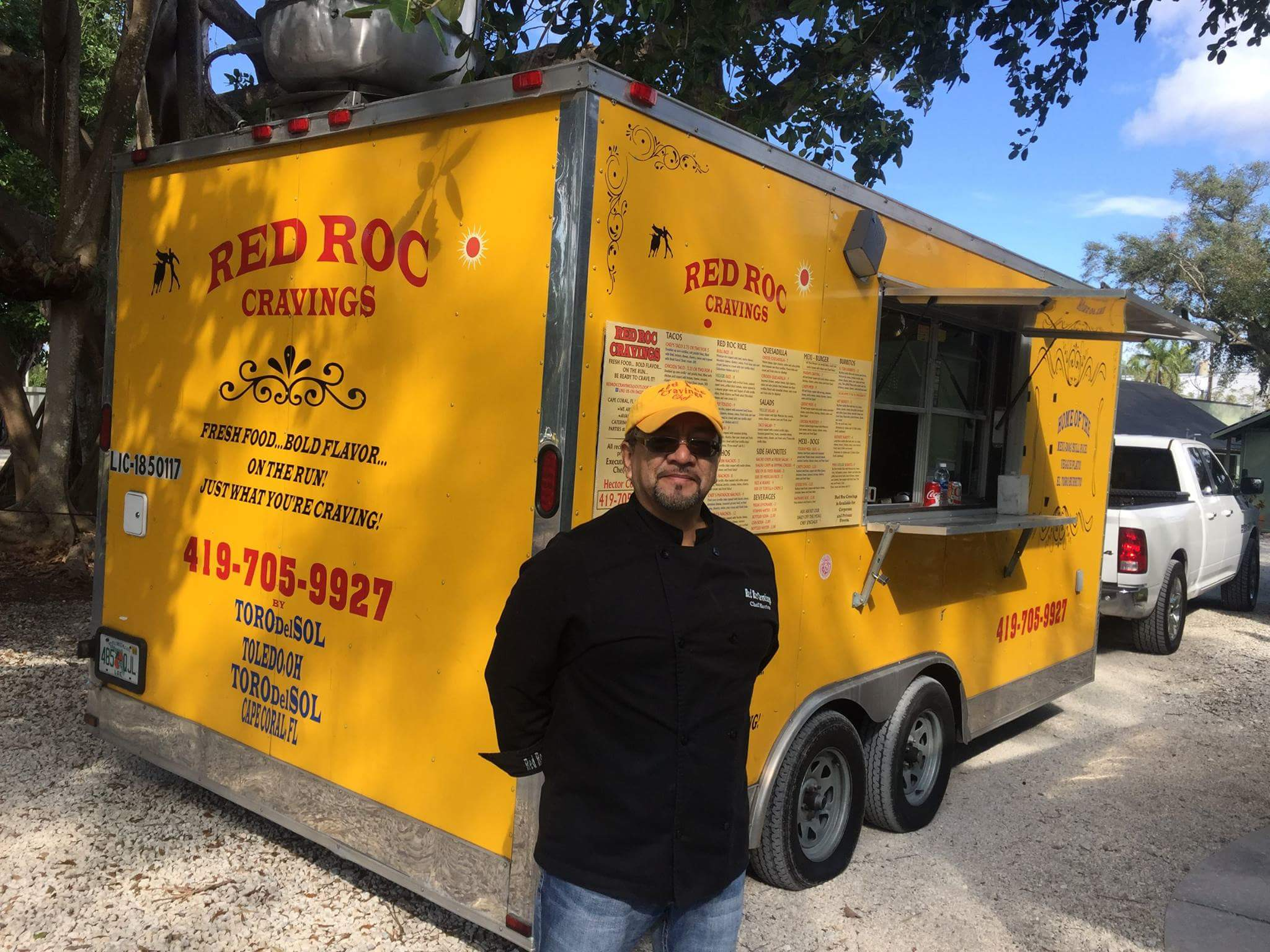 Red Roc Cravings Food Truck